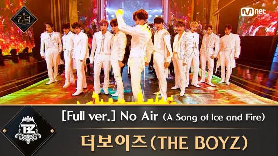 [풀버전] ♬ No Air (A Song of Ice and Fire) - 더보이즈(THE BOYZ)