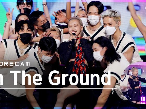 [앵콜캠4K] 로제 'On The Ground' 인기가요 1위 앵콜 직캠 (ROSÉ Encore Fancam) | @SBS Inkigayo_2021.03.28.