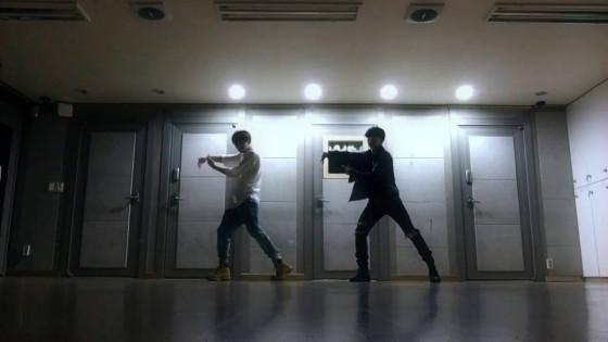 BTS (방탄소년단) 정국이랑 지민이 ('Own it' choreography by Brian puspose) Dance practice