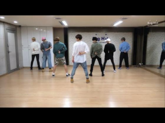 BTS (방탄소년단) '좋아요 Part 2' Dance Practice