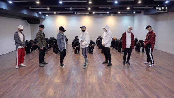 BTS (방탄소년단) 'Golden Disk Awards 2018' Dance Practice #2018BTSFESTA