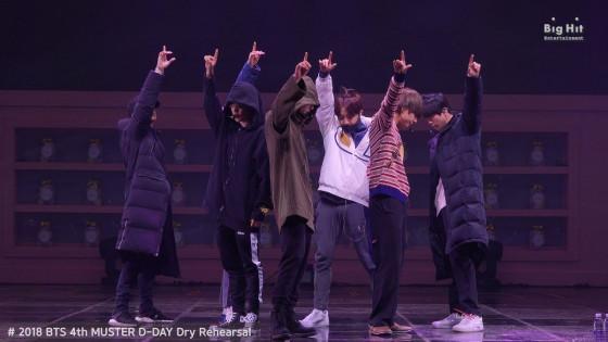 BTS (방탄소년단) Rehearsal Stage CAM 'Best of Me' @ 4TH MUSTER #2018BTSFESTA