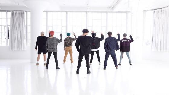 BTS (방탄소년단) '작은 것들을 위한 시 (Boy With Luv)' Dance Practice