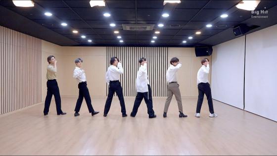BTS (방탄소년단) 2020 MMA 'Dynamite' Dance Break Practice
