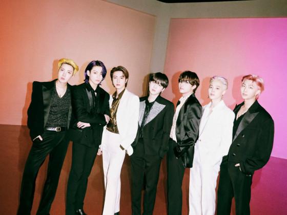 BTS Butter Remix Hotter Ver. Group Photo
