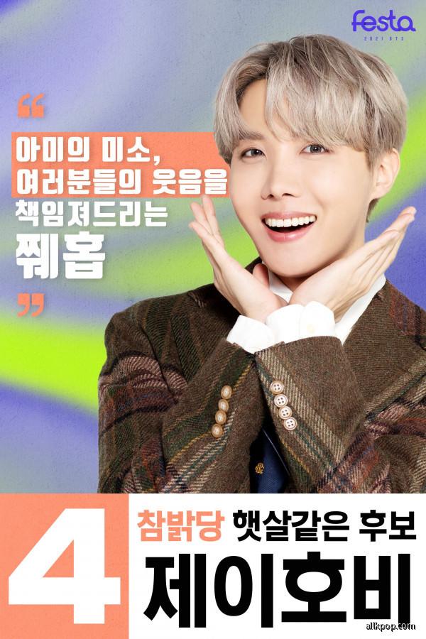 BTS 2021 FESTA MEMBERS' PROFILE - J-Hope