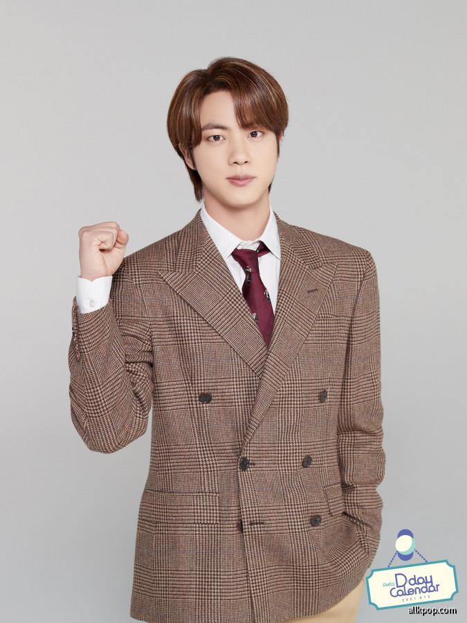 BTS FESTA 2021 CALENDAR D-3 - Jin