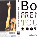 BoA - Arena Tour 2005 DVD Packaging