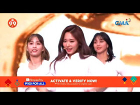 """TWICE's performance and interview on Shopee LIVE """"9.9 Super Shopping Day"""""""