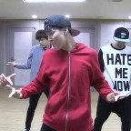 [BANGTAN BOMB] when BTS was practicing the showcase