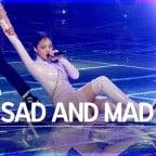 [안방1열 직캠4K] 비비 'BAD SAD AND MAD' 풀캠 (BIBI Full Cam)│@SBS Inkigayo_2021.05.02.