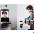 BTS x Samsung Mobile Galaxy Press